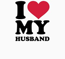 I love my husband Womens Fitted T-Shirt