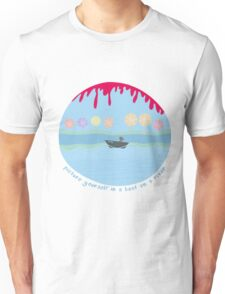 Me in a boat Unisex T-Shirt