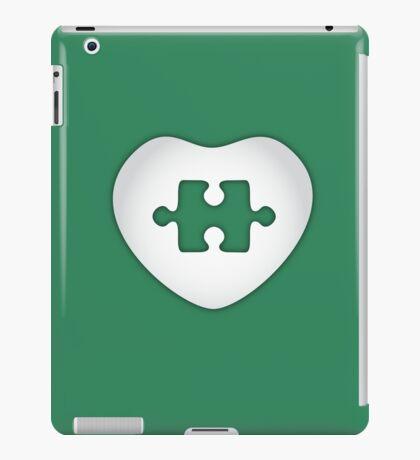 Puzzled Heart iPad Case/Skin