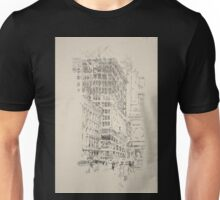 275 Lithographs of New York in 1904 Building the building Unisex T-Shirt