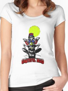 Grateful Dead - Motorcycle Skull Women's Fitted Scoop T-Shirt