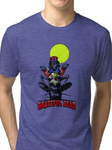 Grateful Dead - Motorcycle Skull Tri-blend T-Shirt