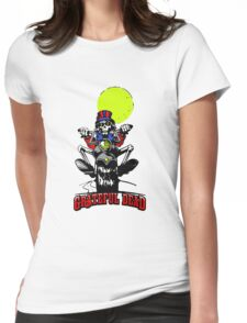 Grateful Dead - Motorcycle Skull Womens Fitted T-Shirt
