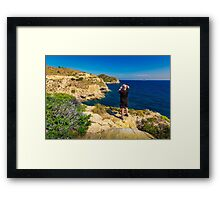 Location scouting Framed Print