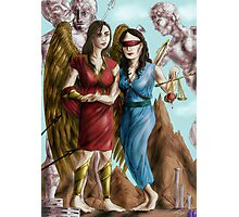 Hannibal - Nike and Themis colored Photographic Print
