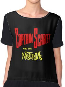 Captain Scarlet and the Mysterons Chiffon Top