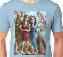 Hannibal - Nike and Themis colored Unisex T-Shirt