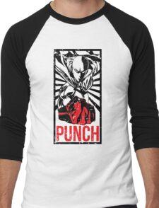 PUNCH!!! Men's Baseball ¾ T-Shirt