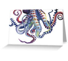 Sea Monster Greeting Card