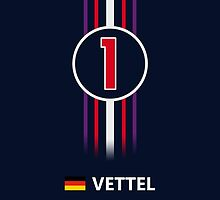F1 2013/14 - #1 Vettel by loxley108