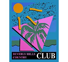 Beverly Hills Country Club Photographic Print