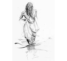 Lady In the Waters  Photographic Print