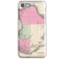 Vintage Map of Australia (1862) iPhone Case/Skin