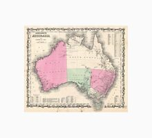 Vintage Map of Australia (1862) Unisex T-Shirt