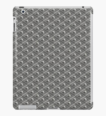 Treppe in Treppe Muster iPad Case/Skin