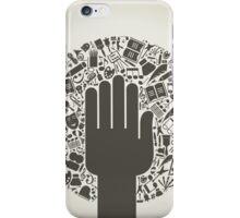 Arts a hand iPhone Case/Skin