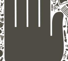 Arts a hand Sticker