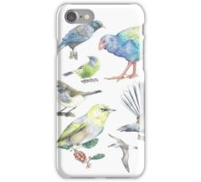 Compilation of New Zealand Birds iPhone Case/Skin
