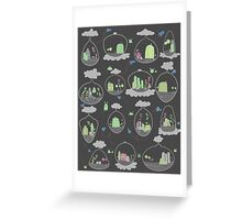 Extra Terrariums Greeting Card