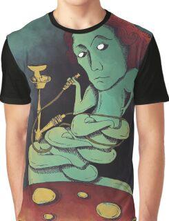 Lewis, smooking hookah, eating mushrooms Graphic T-Shirt
