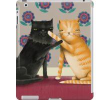 Play Fight Cat Fun iPad Case/Skin
