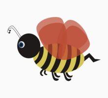 Bent Bee Sticker Baby Tee