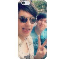 Dan and Phil selfie iPhone Case/Skin