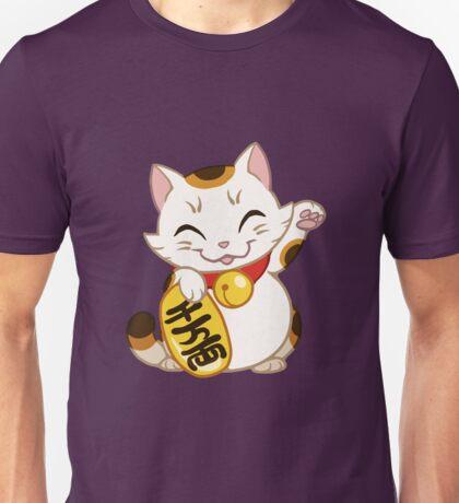 Maneki neko - lucky, beckogning cat Unisex T-Shirt