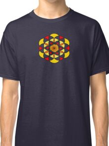 Sacred Geometric Vortex Classic T-Shirt