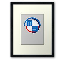 M3 Smooth Lines Framed Print