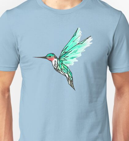 Glass Bird Unisex T-Shirt