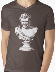 Heroditus Mens V-Neck T-Shirt