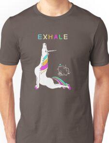 Exhale unicorn Unisex T-Shirt