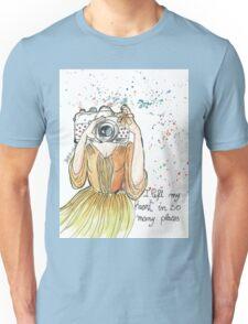 PHOTOGRAPHER LOVER Unisex T-Shirt