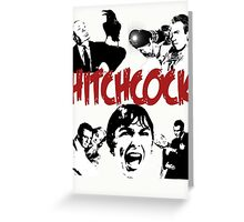 Hitchcock - collection Greeting Card