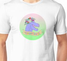 Pastel Veganosaurus Unisex T-Shirt