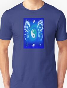 Double Dragon - Blue T-Shirt