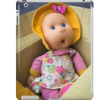 Sally's got a gum. iPad Case/Skin