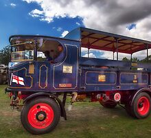 Super Sentinel Steam Waggon. by manateevoyager