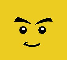 Lego Face by benwllace159