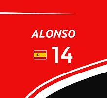 F1 2014 - #14 Alonso by loxley108