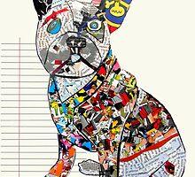 french bulldog modern  by bri-b