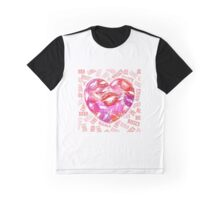 LOVE AND KISSES Graphic T-Shirt