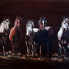"""""""The Line Up"""" by Susan Bergstrom"""