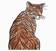 Ginger Kitty Kat v2 One Piece - Short Sleeve