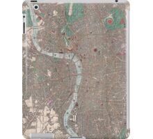 Vintage Map of London England (1862) iPad Case/Skin