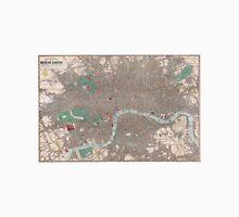 Vintage Map of London England (1862) Unisex T-Shirt