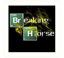 Breaking Horse Art Print