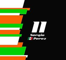 F1 2014 - #11 Perez by loxley108