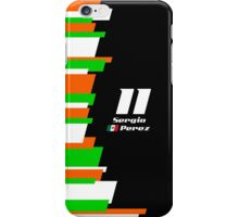 F1 2014 - #11 Perez iPhone Case/Skin
